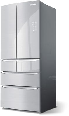 Hisense FMN432A20C American Fridge Freezer Stainless