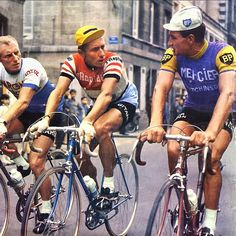 André Darrigade, Jacques Anquetil, Raymond Poulidor