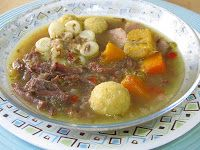 Cocina y Recetas de Venezuela en La Casita de Maribri: SOPA DE RABO