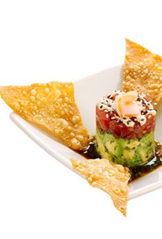 Ahi Tuna Tartare Recipe The Cheesecake Factory Ahi Tartare Fish Recipes, Seafood Recipes, Appetizer Recipes, Cooking Recipes, Copycat Recipes, Healthy Tuna Recipes, Party Appetizers, Eating Healthy, Cake Recipes