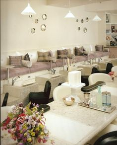 luxury nail salon interior design - Google Search                              …