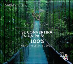 En 5 años Costa Rica se volverá un país 100% renovable!! Quieres saber más ? Visítanos: www.facebook.com/11Colors