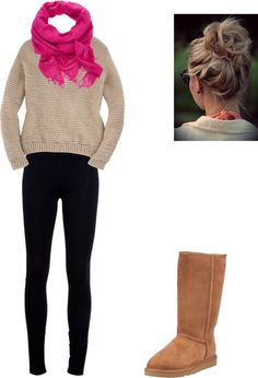 """Winterrr :]"" by jenkinshn on Polyvore"
