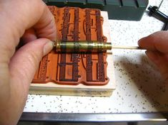 How to etch bullet casings. Might have to get some used bullet casings from my bf so I can try this idea. Ammo Jewelry, Metal Jewelry, Jewelry Crafts, Jewelry Art, Jewellery, Jewelry Tools, Gothic Jewelry, Jewelry Ideas, Jewelry Necklaces