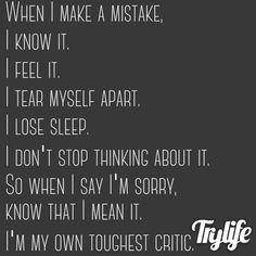 Mental Im Sorry Words