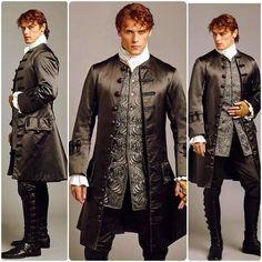 Jamie in France Serie Outlander, Outlander Season 2, Sam Heughan Outlander, Wedding Coat, Samheughan, Jamie And Claire, Jamie Fraser, Great Books, Strong Women