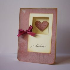 Lift of card from Kristina Werner I Card, Place Cards, Place Card Holders, Frame, Decor, Picture Frame, Decoration, Decorating, Frames