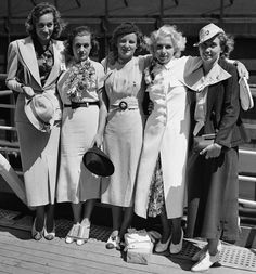 Oh to Be a Muse: Olympics: Fashion Through the Years ~ 1936 Looks