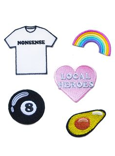 LH RAINBOW patch pack