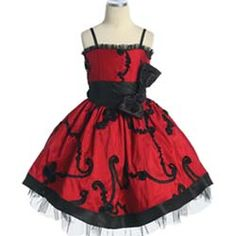 Today I am bringing my new collection of red and black flower girl dresses! Enjoy this post of red and black flower girl dresses Buy dresses online. Red Flower Girl Dresses, Red Wedding Dresses, Girls Dresses, Bridesmaid Dresses, Flower Girls, Dress Red, Bridesmaid Ideas, Long Dresses, Fabric Tutu