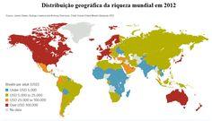 CARLOS  -  Professor  de  Geografia: A espantosa distribuição da riqueza mundial