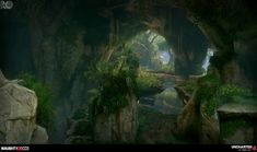 ArtStation - Uncharted 4: Island Cliffs, Rogelio Olguin