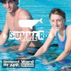 word,dream,summer,swimming