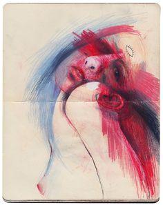turecepcja:   Marina González Eme   Dirty Moleskine (Drawing...
