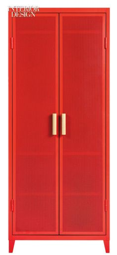 Chantal Andriot's Perforated Locker for Tolix