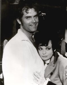FIND A PLACE TO DIE - Jeffrey Hunter & Pascale Petit - Publicity Still.
