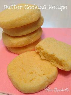 Butter Cookies Recipe   Aries Quaintrelles