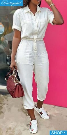 Cute Swag Outfits, Classy Outfits, Chic Outfits, Fashion Outfits, Iranian Women Fashion, Jumpsuit Pattern, Clothing Hacks, African Fashion Dresses, Types Of Fashion Styles