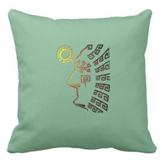 Beautiful Machu Picchu drawing Throw Pillow - home gifts ideas decor special unique custom individual customized individualized