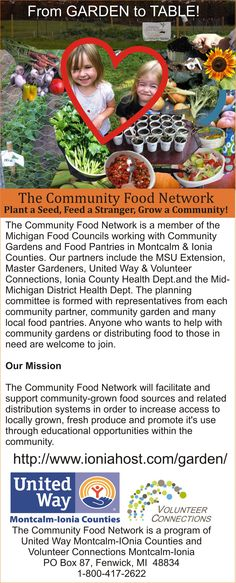 Learn how you can hold a healthy recipes contest from the community food network from garden to table graphic forumfinder Image collections