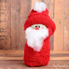Looking for fun and adorable crafts to do with your kids this Christmas? Try these 31 Santa Crafts for Kids and adults to enjoy! Christmas Crafts For Kids To Make, Fun Crafts For Kids, Craft Activities For Kids, Christmas Activities, Toddler Crafts, Crafts To Do, Christmas Fun, Holiday Crafts, Easy Crafts