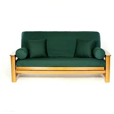 Arctic Green Futon Cover 71 95 Extra Thick Fabric With A Velvety Soft Feel Velvet Pinterest Covers