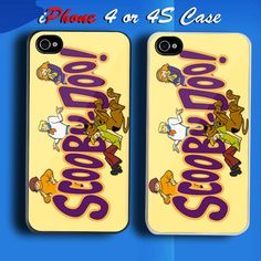 Scooby Doo 1 Custom iPhone 4 or 4S Case Cover