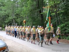 Camp Three Point Staff at the ‪#‎Yawgoog Sunday Dress Parade!  Image captured on August 23, 2015, by David R. Brierley.