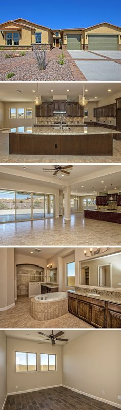 Luxury, single-story southwestern style home in Goodyear, AZ.