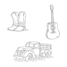 Country Livin' Clear-Mount Stamp Set by Stampin' Up!