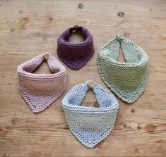 Free baby knitting pattern set including a lace cardigan and booties. Baby Hats Knitting, Knitting For Kids, Baby Knitting Patterns, Loom Knitting, Baby Patterns, Knitting Projects, Crochet Projects, Crochet Patterns, Cowboy Baby