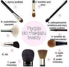 Pędzle do makijażu in 2020 Best Beauty Tips, Beauty Hacks, Beauty Secrets, Makeup Remover, Makeup Brushes, Makeup Tips, Eye Makeup, Drugstore Makeup, Makeup Products