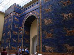 Reconstituição da Porta de Ishtar no Museu de Berlim