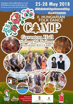 Hungarian Folk Dance Camp in UK 2018 #Hungary #UK #Folk #Dance