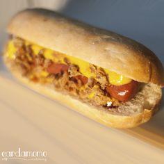 Mini Hot Dog.