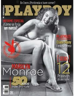 Earl Moran - Marilyn Monroe - 1949 - cover of Playboy Magazine of Venezuela, issue August 2012 - to remember 50 years of her passing away