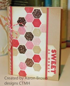 CTMH Sweet as Honey card from Booth #32