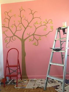 8c1b466e20368a8a19d6ba310f165575 640x853 Pixels Tree Wall PaintingBedroom IdeasGirls