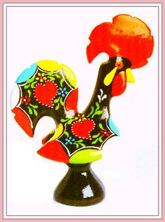 Barcelos rooster - portuguese icon