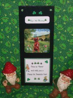 Irish Setter Dog Sign by mareestreasures on Etsy