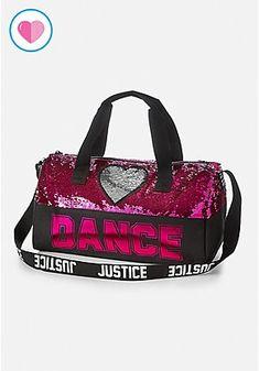 Girls  Activewear   Sporty Styles for Tweens. Dance Flip Sequin Duffle Bag 503948bcb7