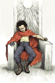 De Tetsuo Akira Tetsuo, Tetsuo Shima, Akira Characters, Akira Poster, Akira Anime, Katsuhiro Otomo, Elements Of Art, Illustrations And Posters, Manga