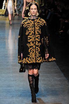 Dolce & Gabbana, Fall 2012 RTW