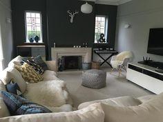 Farrow & Ball Inspiration - down pipe & pavillion grey