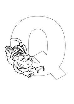 Fichas didacticas de alfabetos con dibujos infantiles. 168