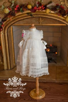 Heirloom christening baby