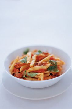 penne with tomato, basil, olives & pecorino | Jamie Oliver | Food | Jamie Oliver (UK)