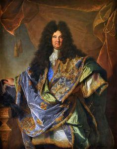 Hyacinthe Rigaud, Philippe de Courcillon, marquis de Dangeau, mémorialiste, 1702, Versailles, Musée du Château.