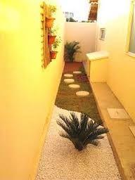 Resultado de imagen para jardim no corredor sobrado