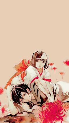 Nora and Yato - Noragami Anime Noragami, Yato And Hiyori, Manga Anime, Anime Kimono, God Of War, Fulmetal Alchemist, Natsume Yuujinchou, Fanart, I Love Anime